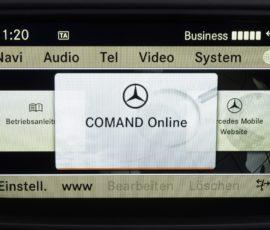 Comand Online – aktualizacja map – Mercedes