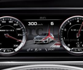 AMG licznik W222 W205 W221 W207 etc. – Mercedes