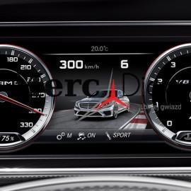 AMG cluster W222 W205 W221 W207 etc. – Mercedes
