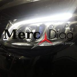 LED MULTIBEAM lights headlights – installing/programming – Mercedes Porsche